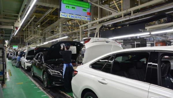 Motomachi Assembly Plant courtesy of Toyota