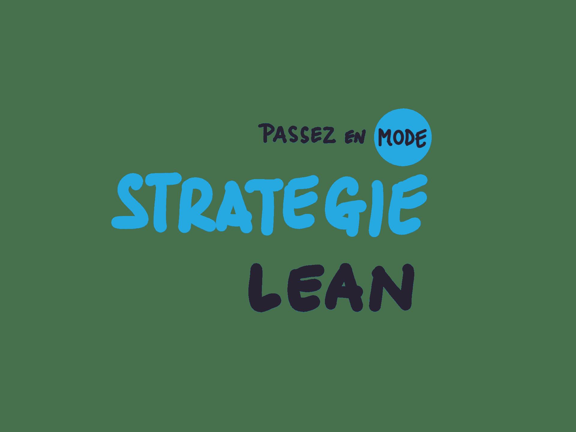 stratégie lean