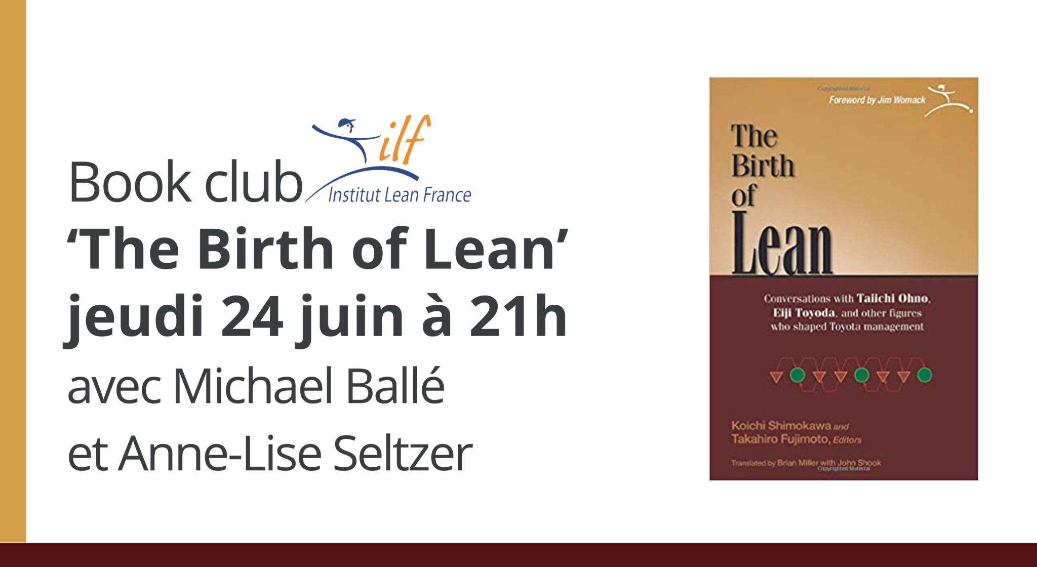 book club the birth of lean